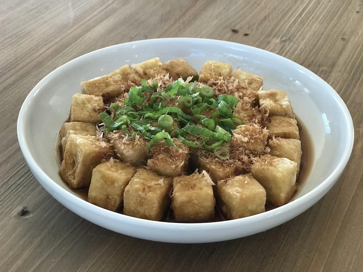 Agedashi Tofu at Home