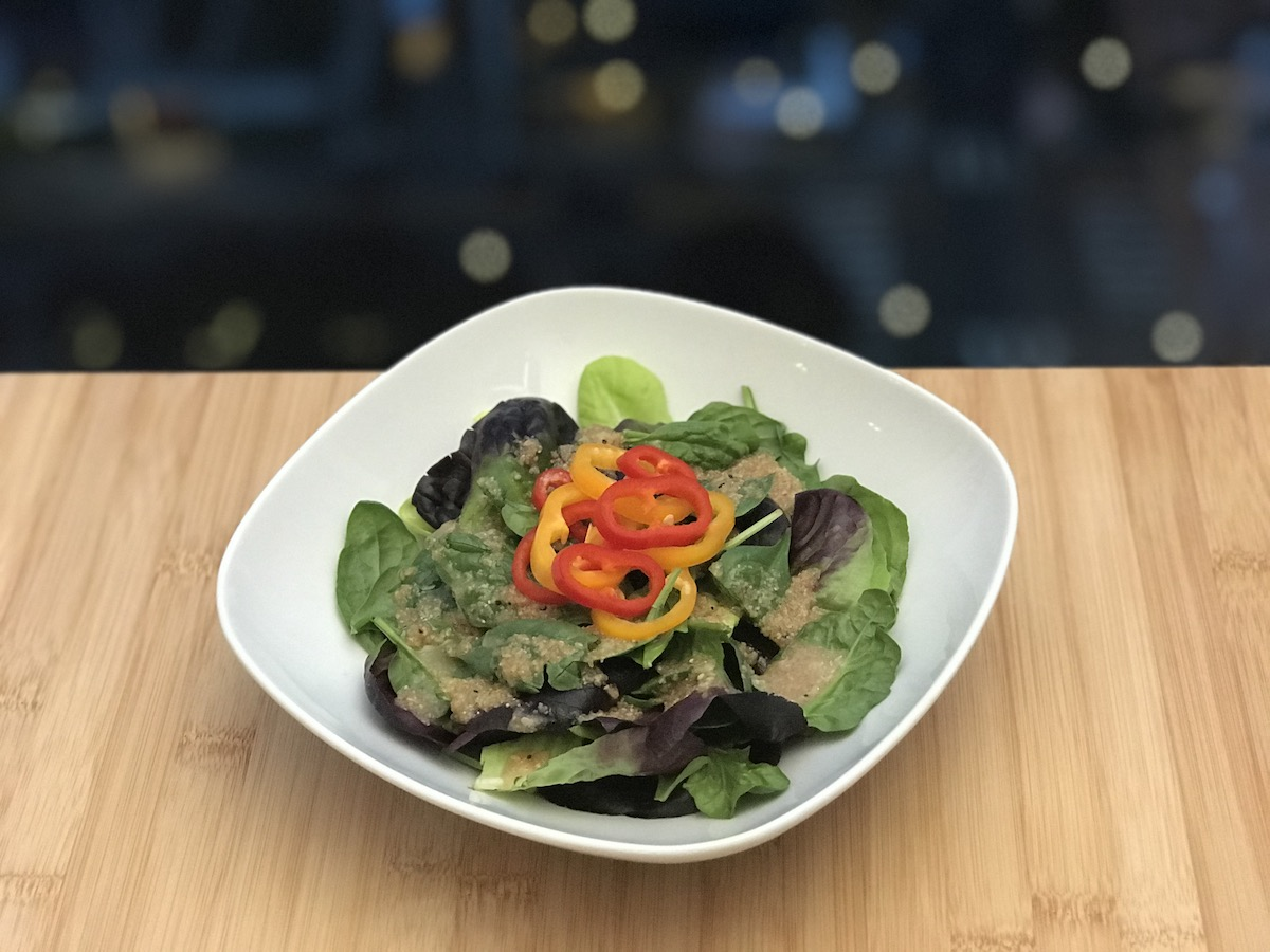 Japanese Sesame Seed Salad Dressing