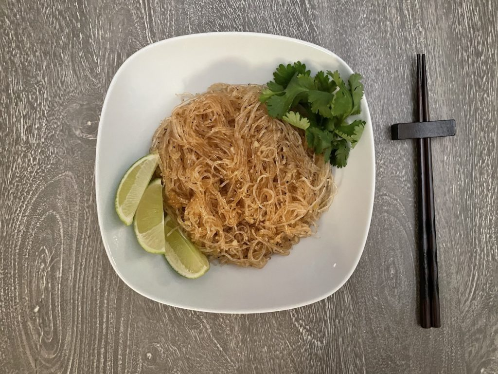 Asian-style Garlic Glass Noodles