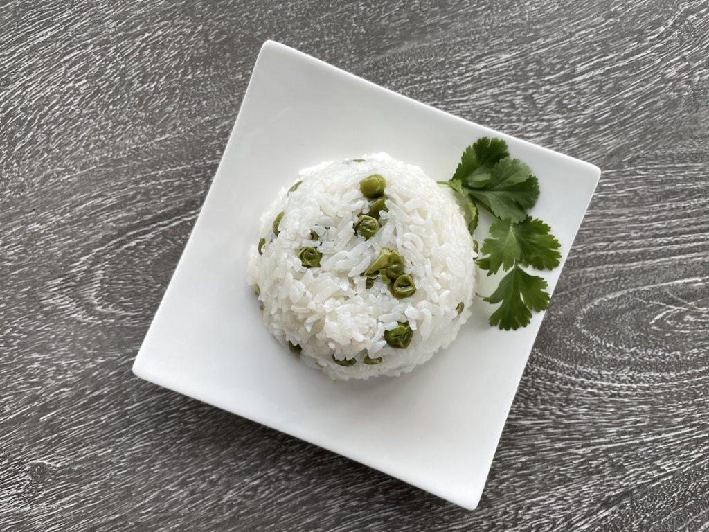 Green Peas + Rice