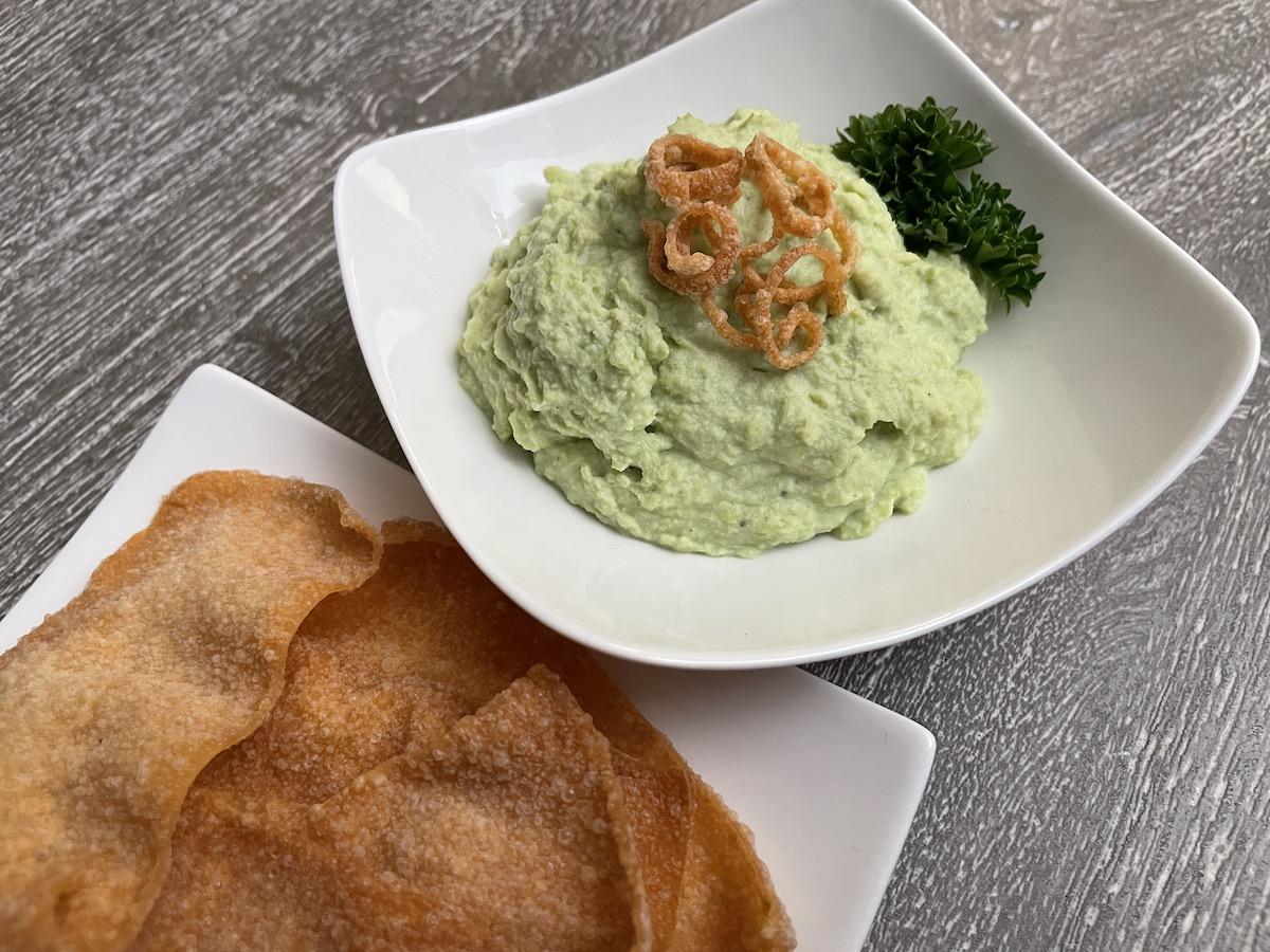 Edamame Hummus – A nice change!