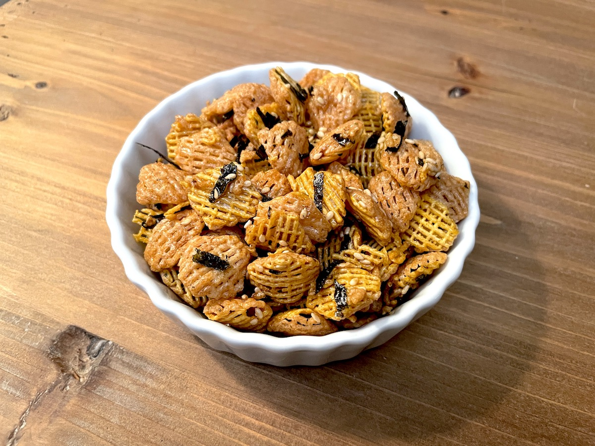 Asian Fusion Crispix Snack Mix