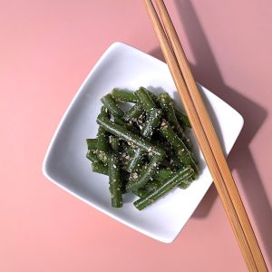 Simple Sesame Seed Green Beans