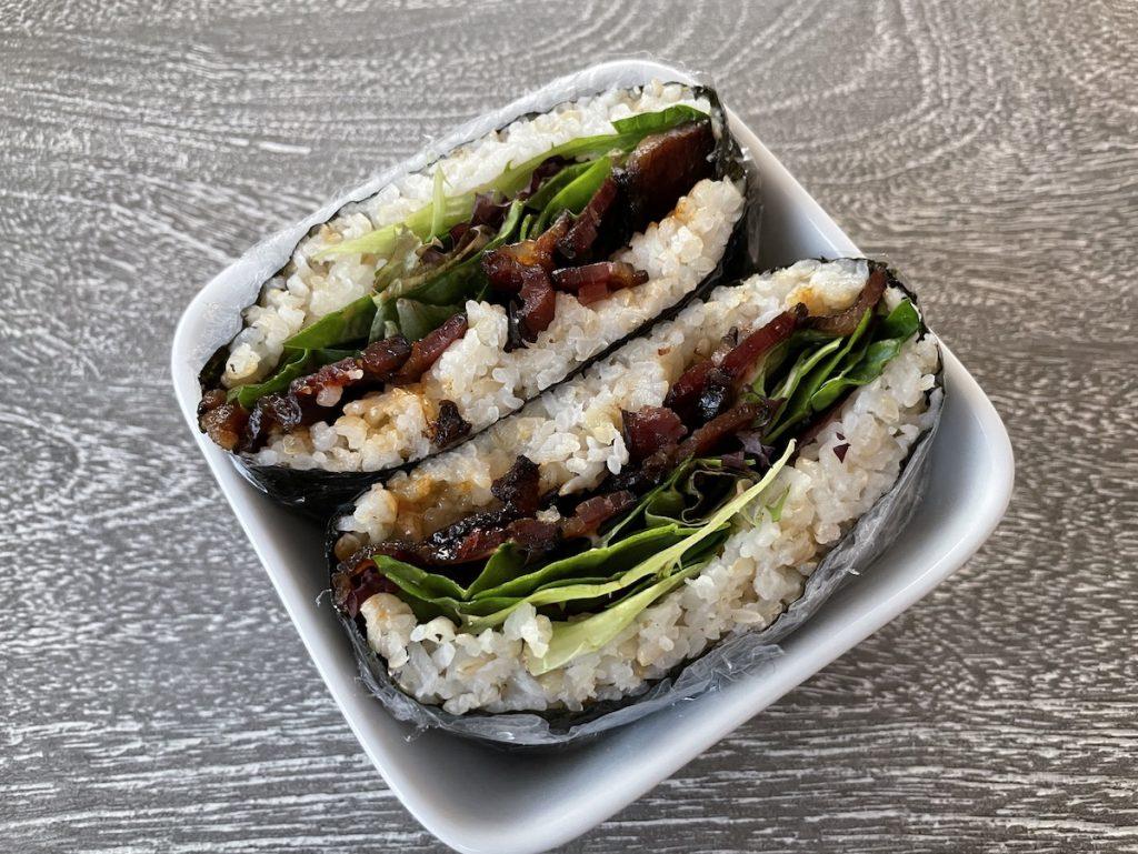 Onigirazu - A Japanese Rice Sandwich