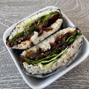 Onigirazu – A Japanese Rice Sandwich